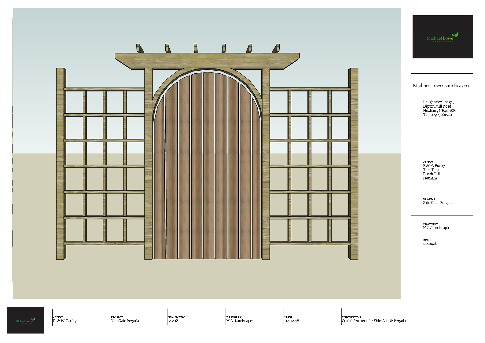 Scaled_Proposal_For_Bespoke_Side_Gate_&_Pergola_Busby_1